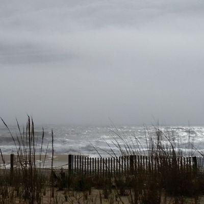 Angry seas beyond new dune grasses... Oceancitycool OceanCity Maryland Ocmd ocmdphotography everythingoc earthpix itsamazingoutthere igglobalclub love life beachlife nature