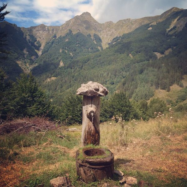 Found On The Roll Mountain Landscape Outdoors Appennini Garfagnana Nature Beauty In Nature Summer Mountain Range Mountain View Fountain Spring Water