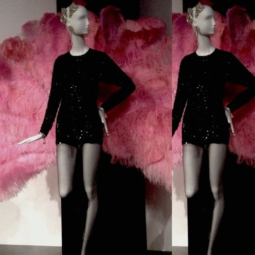 Ysl exhibition at the Bowes Museum