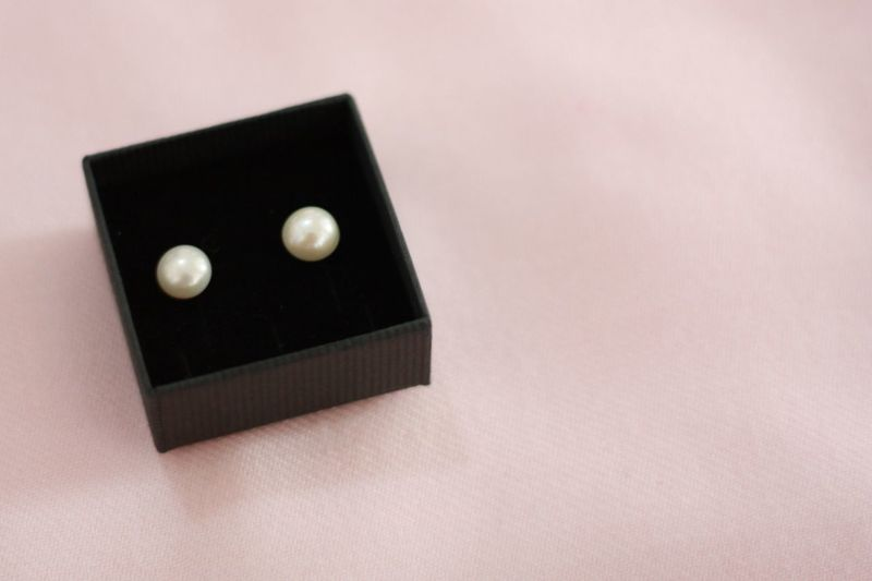 Fashion Gift Jewelry Jewelry Box Pearl Pearl Earrings Pearl Jewelry Pearls Preparing For Wedding Present Rosé Style White White Pearls