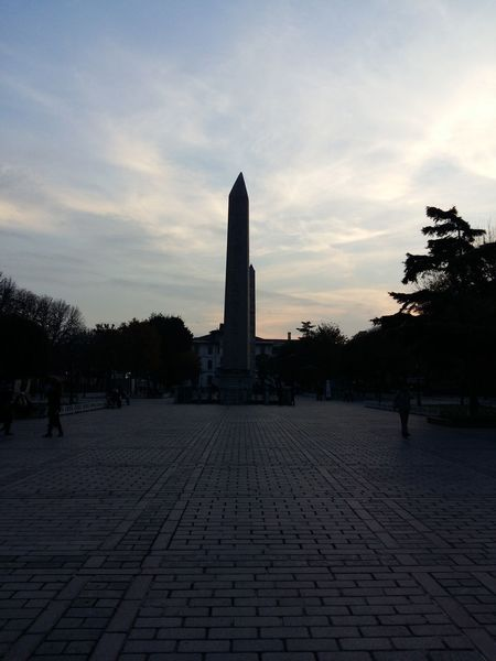 Sultanahmet Dikilitaş Istanbul Sky Blue