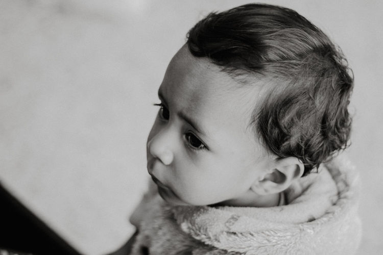 Baby Black And White Blackandwhite Childhood Cute Headshot Innocence One Person Photography Portrait Real People