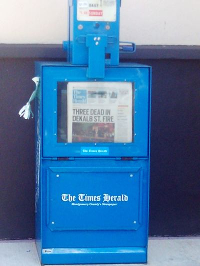 So this morning i go to get some gas and i pass the newspaper box. I see this, my photo plastered all over the front page of the news paper. It was kind of surreal to see something i took printed and credited with my name. Surreal Newspaper News Norristown Pennsylvania Editors News Photography Surprise Feeling Good Feeling Inspired