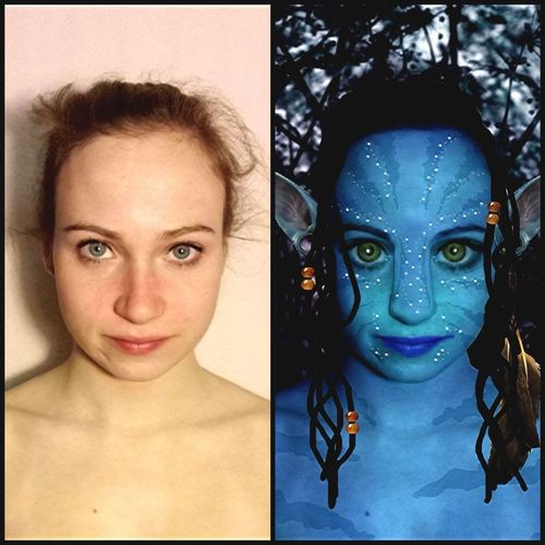 Avatar. Before And After.