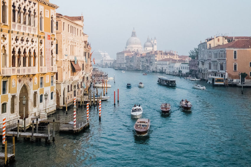 Architecture Building Exterior Built Structure City Day Dome Gondola - Traditional Boat History Mode Of Transport Nautical Vessel No People Outdoors Place Of Worship Sky Spirituality Tourism Transportation Travel Destinations Water Waterfront
