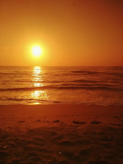 Sunrise at a beach Sunrise Beachphotography Sunrise_Collection Beach Beach Sunrise Sun Golden Hour Sand Beach Time Beach Photography Ocean Waves Ocean Ocean Shores Ocean View Ocean And Sky Sunrise Over Water Sunrise Colors Sunrisephotography Nature Ocean Waves..... Clear Sky My Favorite Photo