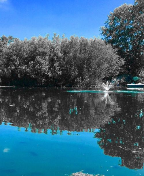 Nature Water Outdoors Tranquil Scene Color Filter Blue Hidden Gems