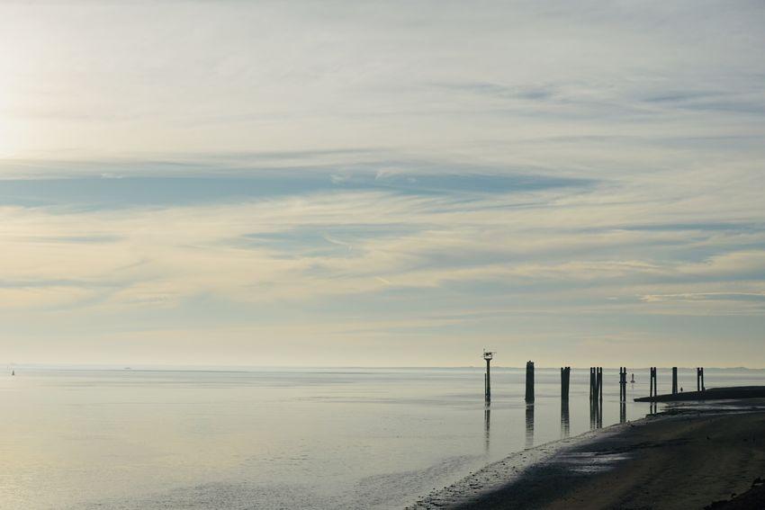 Water Sea Beach Sunset