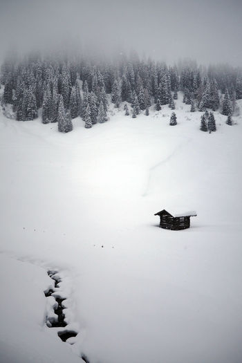 A snowy cabin in the Tyrolean Alps Austria Austrian Alps The Alps TyroleanAlps Wintery Beauty In Nature Cabin Cabin In The Mountains Cold Temperature Frozen Landscape Mountain Cabin Nature No People Outdoors Scenics Snow Snowing Snowy Tranquil Scene Tranquility Tree Tyrol Weather Winter