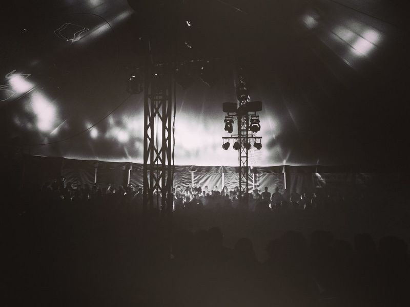 Circus scene in monochrome Crowded Monochrome Blackandwhite Circus Stage People Atmospheric Mood Arts Culture And Entertainment Live Event Stage - Performance Space Entertainment Occupation Atmosphere Entertainment Tent Stage Light Adventures In The City