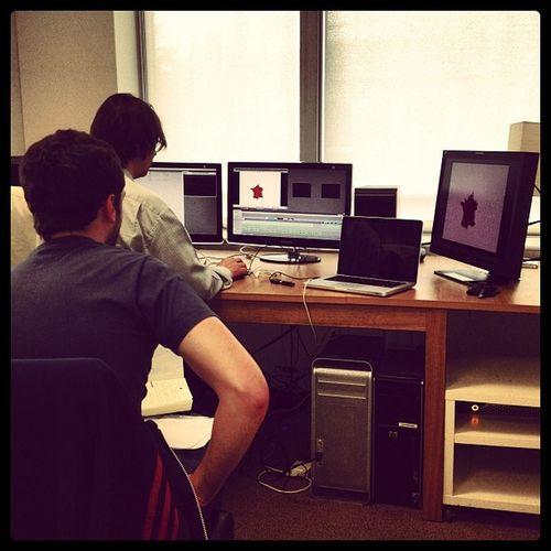 Editing day. Finalcut MOVIE Tv