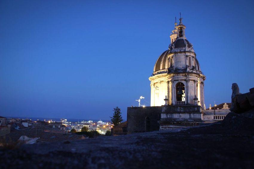 Duomo di Catania, Sicily Photography Church Phrobisantos EyeEm Lovingphotography Loveit Italy Picoftheday Blue Sky