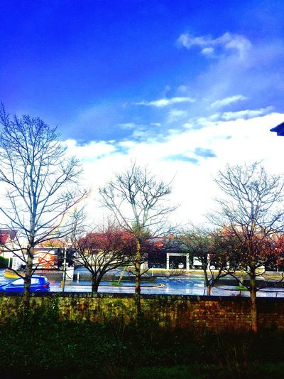 First Eyeem Photo Rainbow Blue Sky
