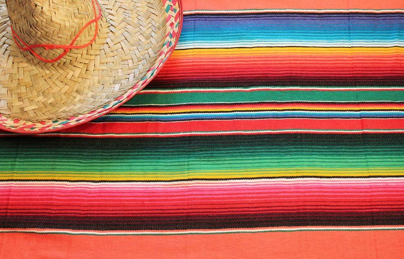 Full frame shot of multi colored hat