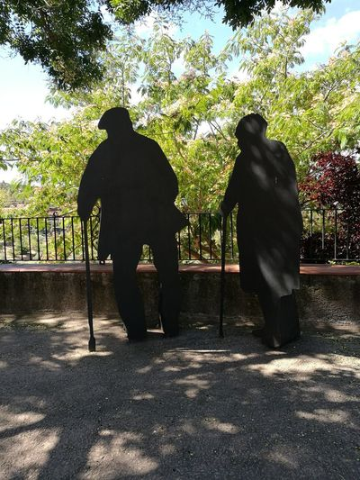 Two People People Silhouette Adult Adults Only Shadow Inspiration Is Every Where Lovely Place Detodounpoco Shooting Photos HuaweiP9 Silhouette Fiestas De Pueblo Oxidation Process
