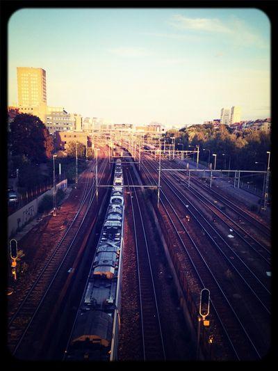 Bridge Train Railway Don't Jump