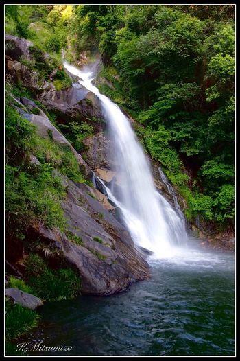佐賀県唐津市相知町 見返りの滝 Tadaa Community Nature Photography Landscape Waterfall 滝 唐津 相知