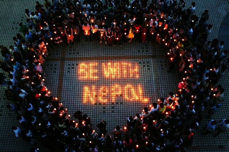Pray For Nepal Be With Nepal photograph by www.earth-heal.com