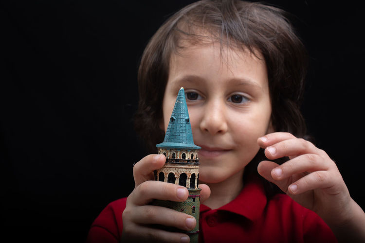 Galata Galata Tower Ancient Architecture Building City Culture Europe Famous Historic Historical Istanbul Landmark Miniature Model Monument Old Opened Outdoor Park Stone Structure Tourism Tourist Tower Travel Turkey Turkish Urban View