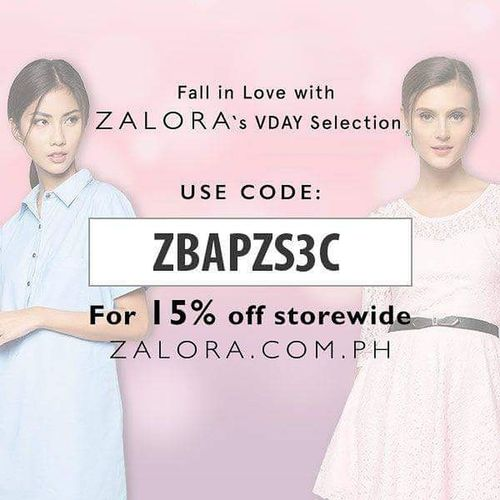 "Shop for valentine""s for your special someone just use the code ZBAPZS3C to avail 15%off discount storewide, exclusive for Philippines only*** share this code to your family and friend. shop it here >>> http://www.zalora.com.ph Zalora ZaloraPH Zalorabasics @zaloraph FreshFromZalora Eyeem Philippines Philippines Online Shopping  Greatdeal Discount Valentine Gift Gifts ❤ Shop Girlfriend Boyfriend Love Ones Share"