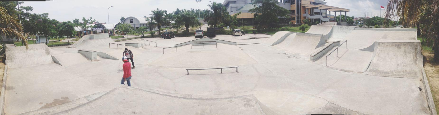 Skateboarding Skatepark Balikpapan Mandau