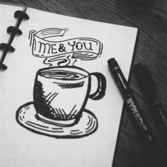 Thanks God it's Freeday✌✏? Tgif Typhography Doodles Coffeediary
