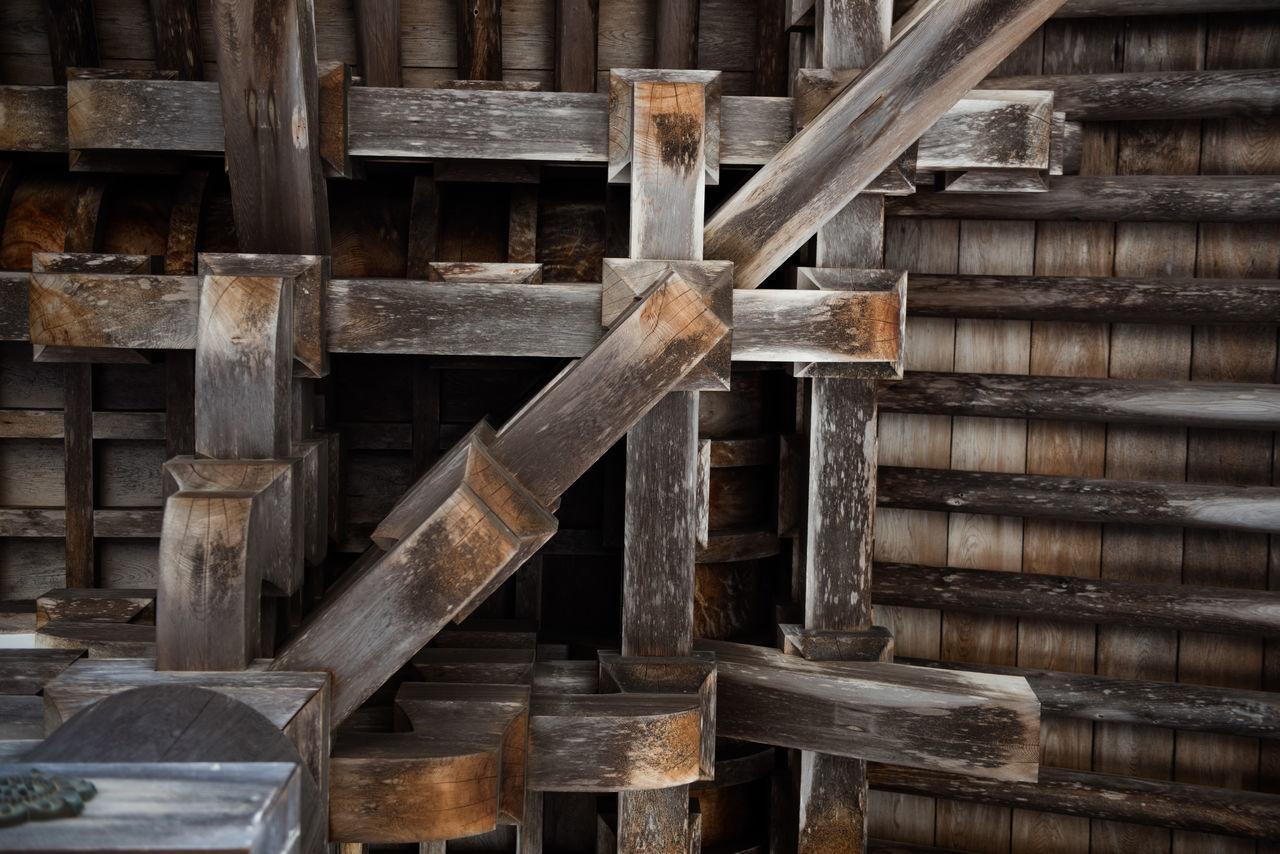 Full Frame Shot Of Wooden Structure
