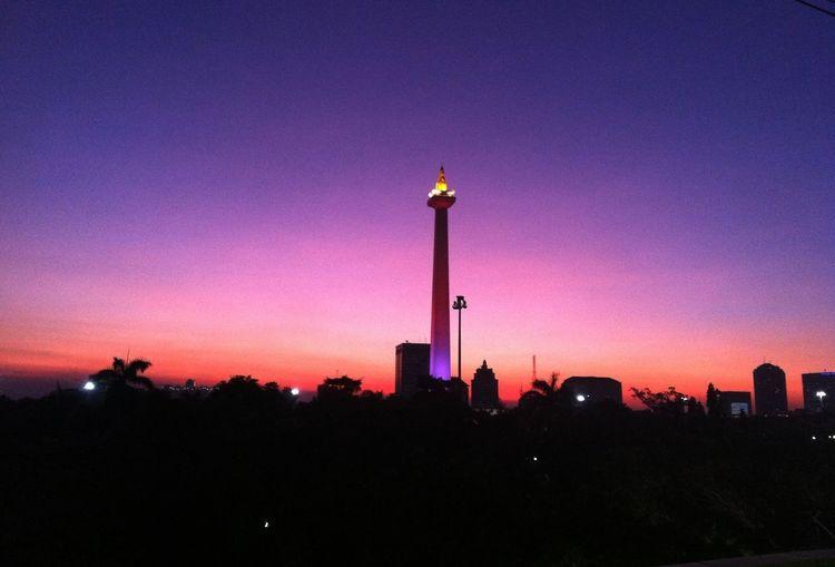 Senja... Street Photo Street Snapshoot Sunset Jakarta