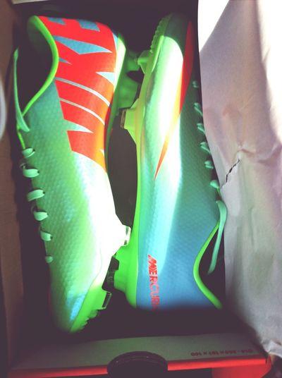 My new baby's, ready for season! <3 New Cleats Soccer Season Ready Love