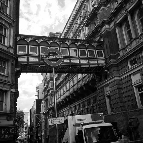 London Street Photography Black & White Cityscapes