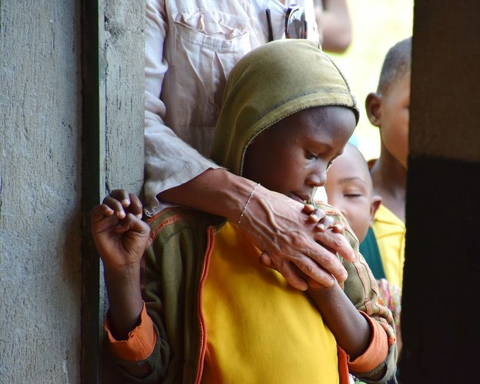 Ntungamo Uganda Woman Solidarity Children Child School Human Hand Togetherness Mid Adult Close-up This Is My Skin