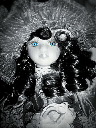 Black And White And Color Muñeca Doll EyeEm Best Shots