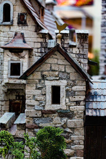 Architecture Building Exterior Built Structure Building No People Day History Focus On Foreground Outdoors Religion House Roof The Past Nature Birdhouse Old Place Of Worship Plant Wood - Material Belief Stone Wall