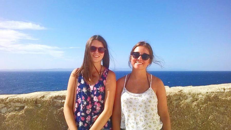 Best bitches Friends Corsica2015 Bonnifacio Summer Time