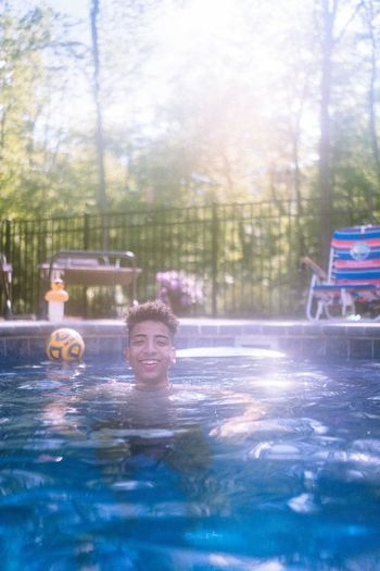 Pool Water Swimming Pool Day Nature Real People Wet