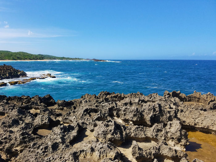 On top of the Cave (Cueva Las Golondrinas.) in Manatí. Beach Beauty In Nature Blue Check This Out Day Growth Horizon Over Water Nature No People Outdoors Samsung Galaxy S7 Scenics Sea Sky Sunlight Tranquil Scene Tranquility Water Flying High Break The Mold TCPM