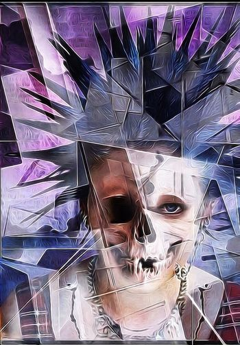 Death Of Punk Death Of Youth Style Facial Experiments Resist Tempteation Photographic Approximation Mind Inventory Surrealism And Fantasy Art Celebration Of The Ephemerality Of Life Cut And Paste