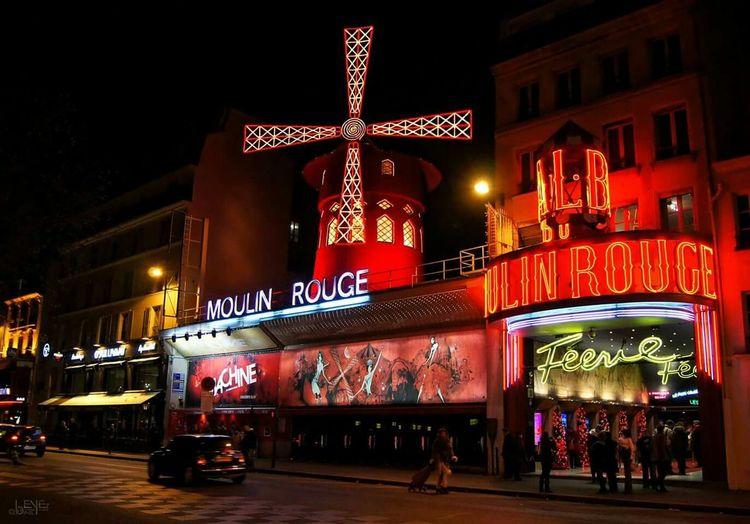 Paris Paris Je T Aime ParisByNight Moulin Rouge Moulinrouge City Lights Citylife Paris, France  Photowalking Paris Bonjour Paris