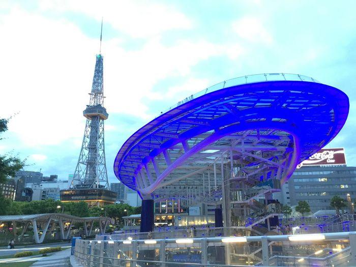 名古屋観光! Nagoya Oasis21 Nagoyatvtower