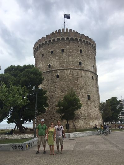 Architecture Castle Ottoman Sea Side Thessaloniki White Castle