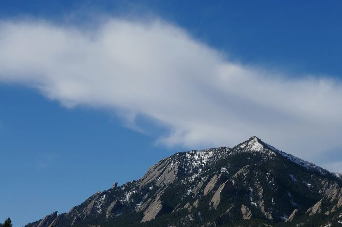Boulder flatirons. Check This Out Scenic Blue Sky Flatirons Boulder Mountains And Sky Spring Tranquility Rocky Mountains Outdoors Colorado Mountians Colorado Clouds And Sky Bluesky Lumix Lumixlounge Panasonic Lumix