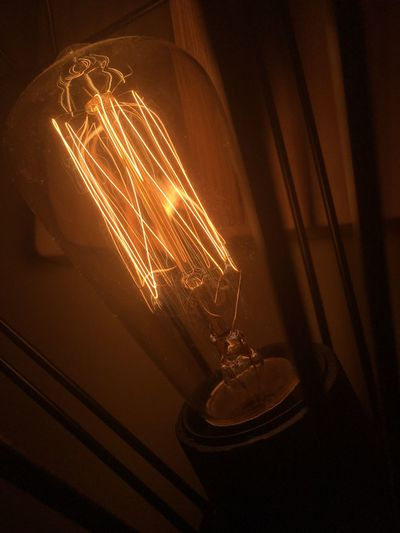 Lights Illuminated Electricity  Glowing Indoors  No People Lighting Equipment Filament Light Bulb Close-up Long Exposure Heat - Temperature Night Technology Original Experiences Bedroomlight Style Lampstand Lamp Indoors  Day Lifestyles