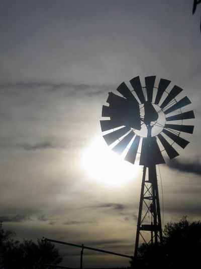 Windmill in the morning Farm Windmill Morning Sunrise Sky Fuel And Power Generation Alternative Energy Cloud - Sky Renewable Energy Environmental Conservation Low Angle View Outdoors No People Wind Power Wind Turbine