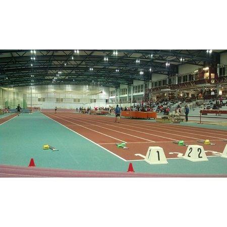 Frankfurt Wettkampf Leichtathletik Halle
