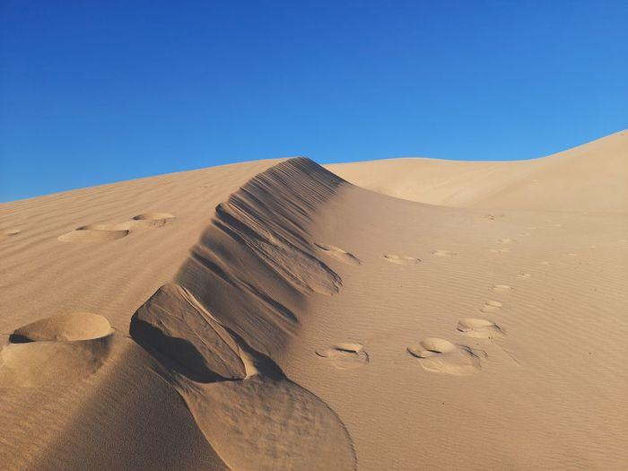 Amazing sand in desert