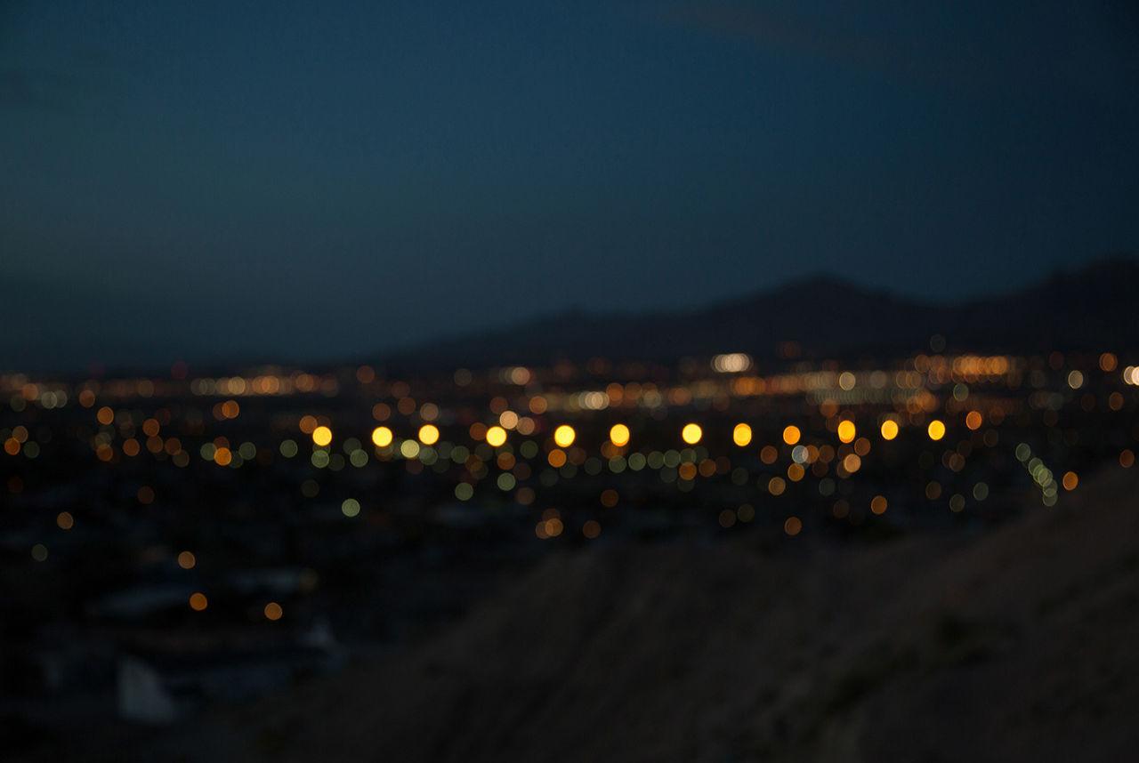 night, illuminated, no people, city, outdoors