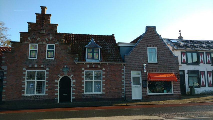 Architecture Building Exterior No People Dutch Houses Dutch Nostalgia Barbershop Barbershop Pole Dutch Village