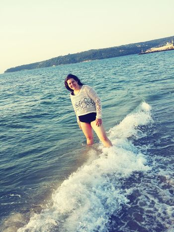 That's Me Feeling Beautiful Sea And Sky Feeling Sexi:)