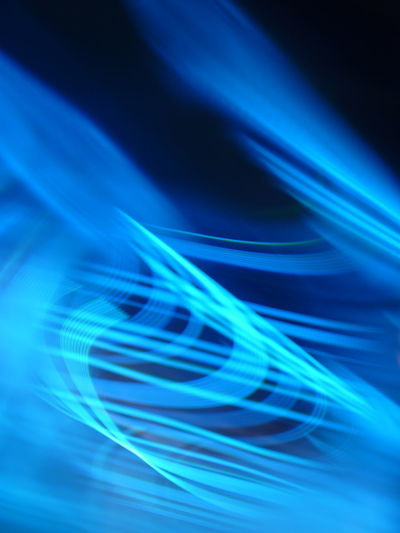 Abstract Bandwidth Big Data Blue Blurred Motion Cable Communication Computer Computer Cable Computer Network Connection Cyberspace Data Electricity  Fiber Optic Fuel And Power Generation Futuristic Illuminated Internet Light Trail No People Science Speed Studio Shot Technology