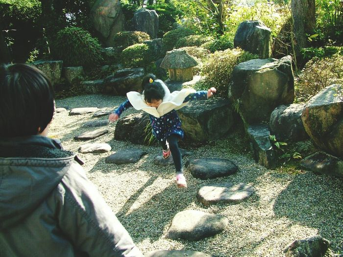 Photography In Motion 忍者 くの一 ジャンプ 日本庭園 庭 Ninja Girl Ninja Jump Japan Japanese Garden